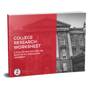 College Research Worksheet